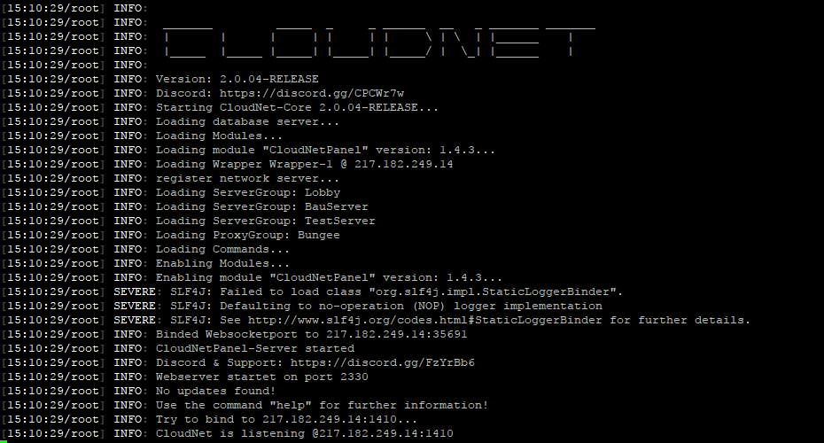 CloudNet The Cloud Network Environment Technology SpigotMC - Minecraft server erstellen immer online kostenlos